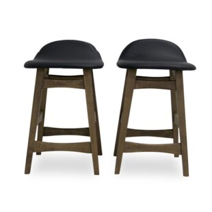 Amaral Counter Bar Stool (Set of 2) Ivy Bronx