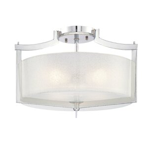 Latitude Run Janik 3-Light Semi-Flush Mount