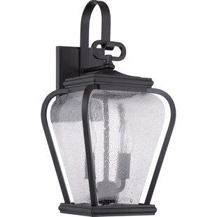 Red Barrel Studio James 2-Light Outdoor Wall Lantern