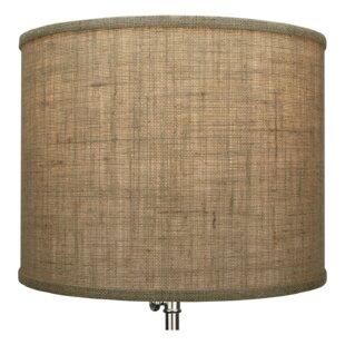14 Burlap Drum Lamp shade
