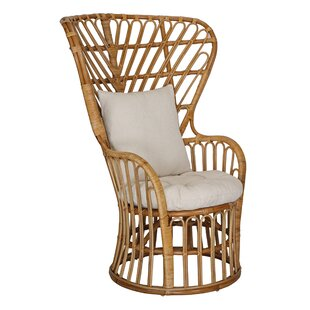 Wemoorland Wingback Chair By Bay Isle Home