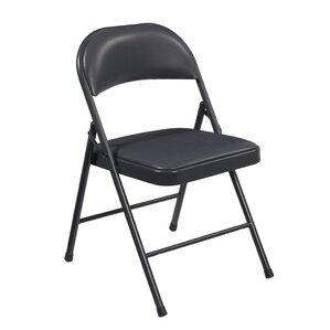 Elegant Commercialine Vinyl Padded Folding Chair (Set Of 4)