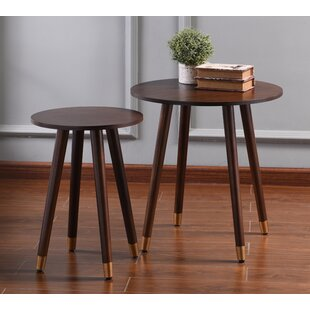 Aughalish 2 Piece End Table Set