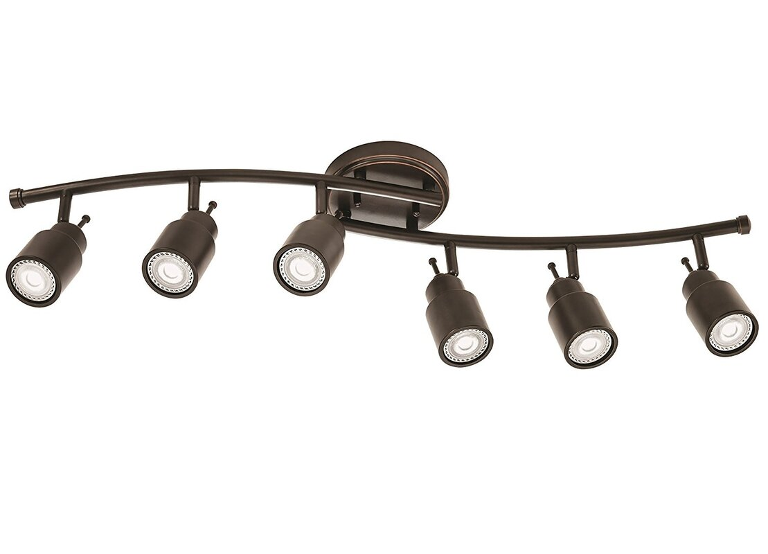 Lithonia lighting 6 light fixed track kit reviews wayfair 6 light fixed track kit aloadofball Image collections