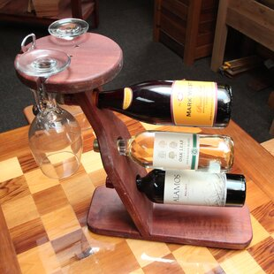 3 Bottle Tabletop Wine Rack by Gronomics