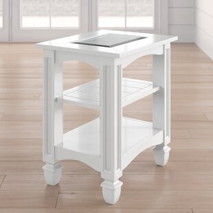 Compare prices Wilmont Chairside Table By Beachcrest Home