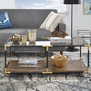 Hymes Coffee Table with Tray Top