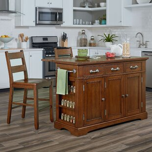 Hewish Kitchen Island Set by August Grove Reviews