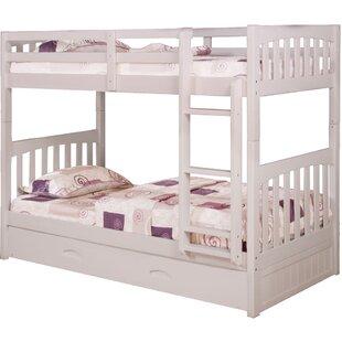Harriet Bee Eichorn Twin over Twin Bunk Bed