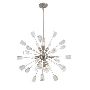 George Oliver Middleborough 9-Light Sputnik Chandelier