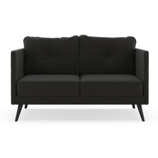 Budget Schiavone Satin Weave Loveseat by Orren Ellis Reviews (2019) & Buyer's Guide