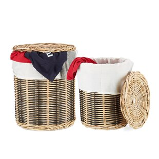 Stars Laundry Basket Set By August Grove