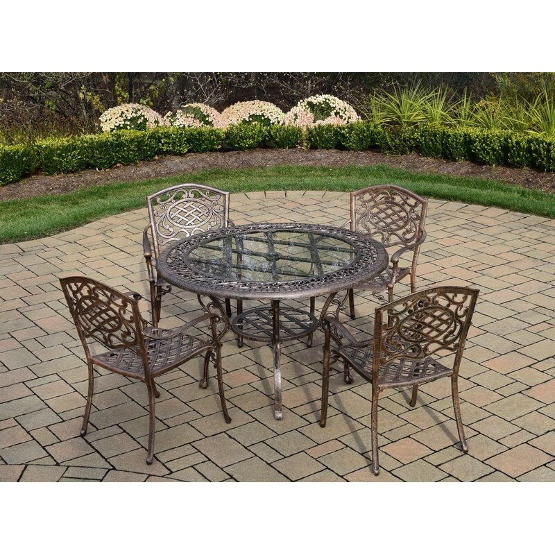 Astoria Grand Mcgrady 5 Piece Dining Set Wayfair