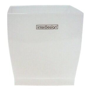 InterDesign Plastic 1.25 Gallon Waste Basket