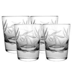 Olive 13 oz. Glass Cocktail Glass (Set of 4)