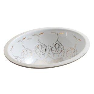 Kohler Caravan Ceramic Oval Undermount Ba..
