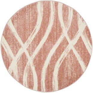 Graciano Pink/Beige Area Rug by Willa Arlo Interiors