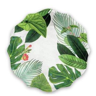 Amazon Floral 29cm Melamine Dinner Plate (Set Of 4) By Tar Hong