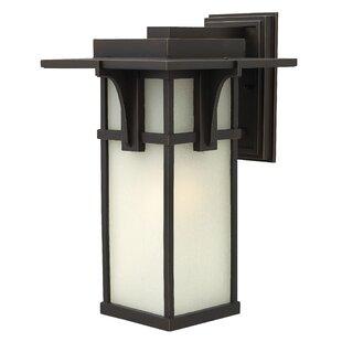 Manhattan 1-Light Outdoor Wall Lantern by..