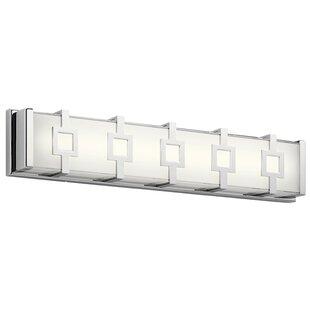 Orren Ellis Rozek Modern 1-Light LED Bath Bar