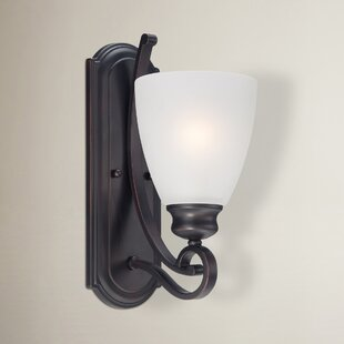 Elinor 1-Light Bath Sconce by Fleur De Lis Living