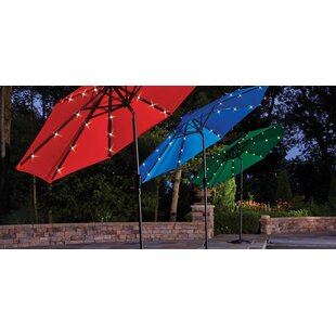 Ebern Designs Baron Tiltable Patio 9' Market Umbrella