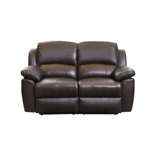 Read Reviews Blackmoor Leather Reclining Loveseat by Darby Home Co Reviews (2019) & Buyer's Guide