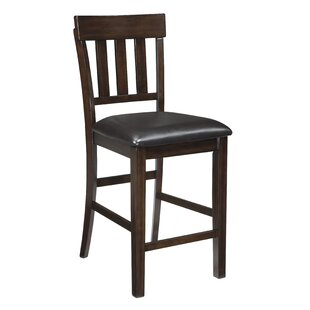 Bartons Bluff 24 Bar Stool (Set of 2) Red Barrel Studio