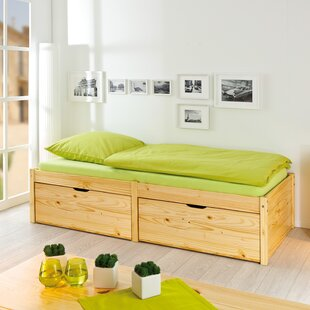 Sandra Storage Bed By Natur Pur