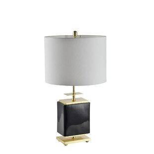 Alize Ceramic Square 28 Table Lamp