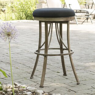 Daugherty 26 Swivel Indoor/Outdoor Patio Bar Stool DarHome Co