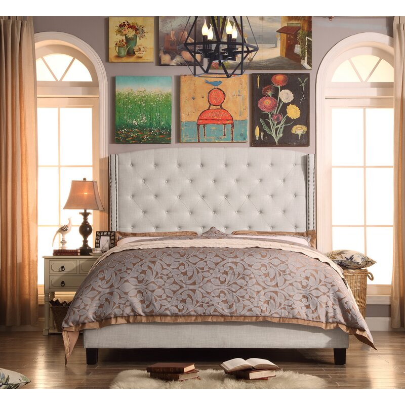 Destiny Upholstered Panel Bed