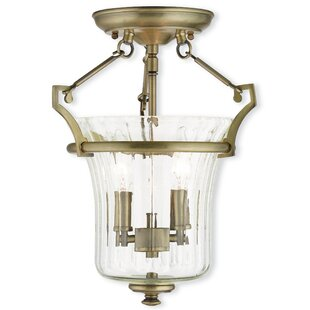 Bolindale 2-Light Semi-Flush Mount by Darby Home Co