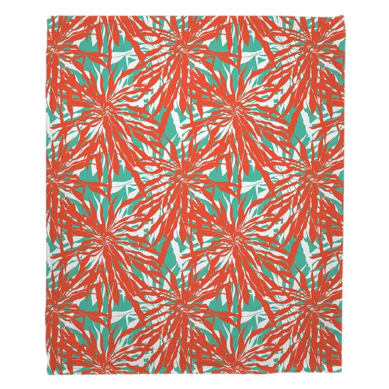 Bayou Breeze Keyes Fleece Blanket Wayfair