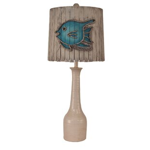 Southwick Slender Neck Textured Pottery 30 Table Lamp