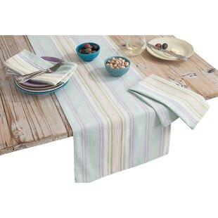 Bon French Perles Stripe Table Runner
