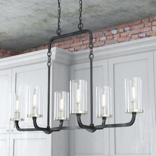 Trent Austin Design Kylee 6-Light Kitchen Island Pendant