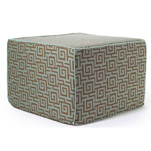 Jiti Puzzle Outdoor Ottoman in Grey