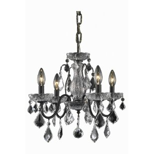 Rosdorf Park Thao 4-Light Candle Style Chandelier
