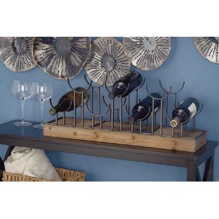 7 Bottle Tabletop Wine Rack by Cole & Grey