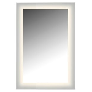 Latitude Run Non-Dimmable LED Glow Bathroom Wall Mirror