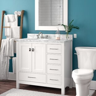 "Quickview. Brayden Studio. Werth 42"" Single Bathroom Vanity ..."