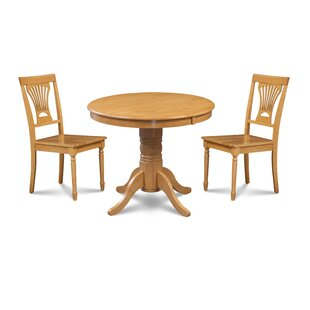 Almaraz 3 Piece Breakfast Nook Dining Set..