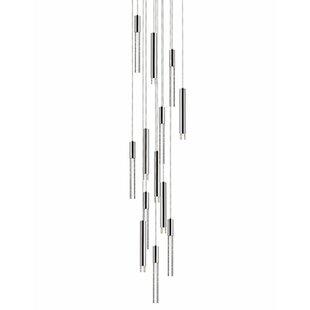 Kara 13-Light Pendant by Radionic Hi Tech