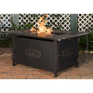 Dynasty Aluminum Propane Fire Pit Table