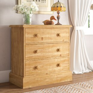 Wadley 3 Drawer Chest Of Drawers By Alpen Home