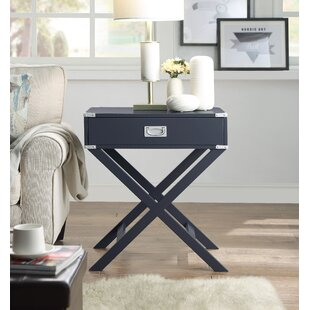 Hadlee End Table with Storage by Ebern Designs