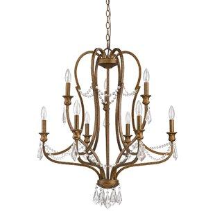 Ophelia & Co. Karas 9-Light Candle Style ..