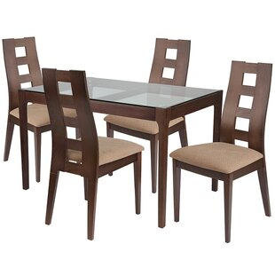 Noa 5 Piece Dining Set by Ebern Designs