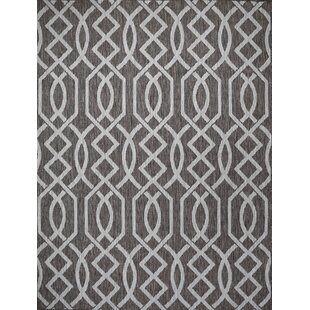 Shuman Light Brown Indoor/Outdoor Area Rug